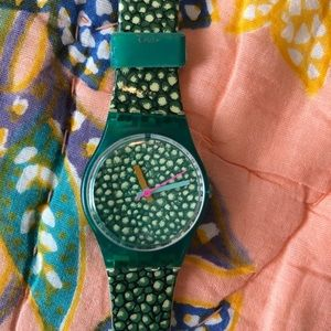 Swatch Watch. Reptile 🦎 Style. Scarce. Vintage.